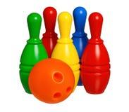 Bowling de jouet photographie stock libre de droits