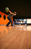Bowling de Tenpin Photos stock