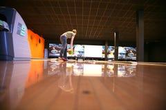 Bowling de pino fotografia de stock