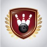 Bowling design Stock Photo