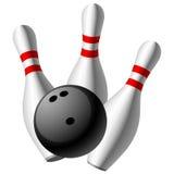 Bowling do vetor ilustração do vetor