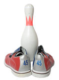 Bowling equipment Royalty Free Stock Photos
