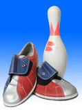Bowling equipment Stock Images