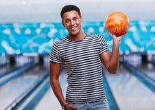 Bowling expert Royalty Free Stock Photos