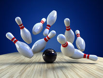 Bowling Game Stock Images