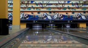 Bowling game Royalty Free Stock Image