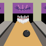 Bowling game. Stock Photo