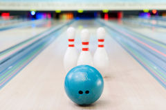 Bowling game. Stock Image
