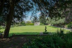 Bowling Green, château de Guildford Photos stock