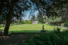 Bowling Green, Guildford-Schloss Stockfotos