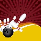 Bowling grunge Royalty Free Stock Image