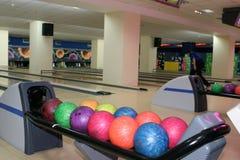 Bowling hall Stock Photos