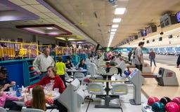 Bowling hangout Stock Photo
