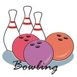 Bowling - icon Royalty Free Stock Image