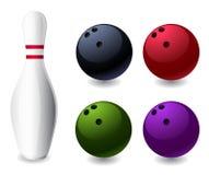 Bowling. Icon -  web design element Stock Photo