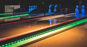 Bowling In Amsterdam Stock Photo