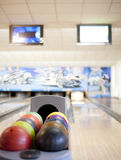Bowling lane Royalty Free Stock Photography