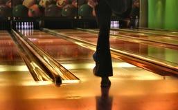 bowling lanes Στοκ Φωτογραφία