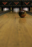 Bowling Lanes - focused #2! Stock Images