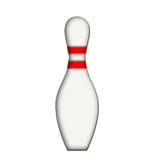 Bowling pin Royalty Free Stock Images