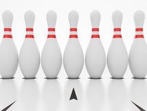 Bowling Pin Royalty Free Stock Photos
