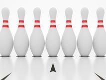 Bowling Pin Royalty Free Stock Photos