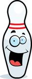 Bowling Pin Smiling Stock Photography