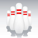 Bowling Pins Stock Photography