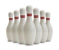 Bowling Pins Stock Image