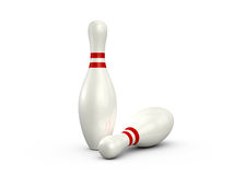 Bowling Pins Stock Images