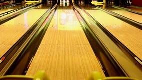 Bowling ramp stock video
