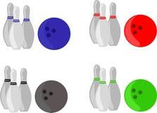 Bowling set Royalty Free Stock Photo