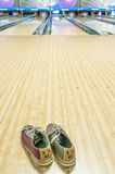 Bowling shoe Royalty Free Stock Photos