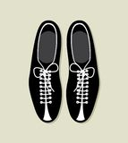Bowling shoes  icon Royalty Free Stock Photography
