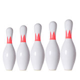Bowling skittle Stock Photography