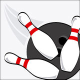 Bowling sport Royalty Free Stock Photo