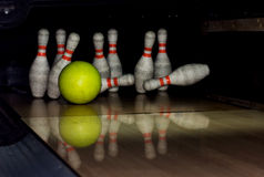 Free Bowling Strike Stock Photos - 11712273