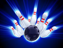 Free Bowling Strike Stock Photos - 8517983