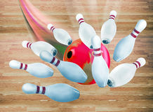 Bowling Strike. Stock Images