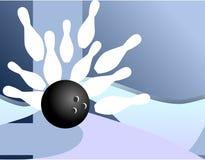 Bowling - Strike Royalty Free Stock Photo