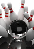 Bowling - the strikes Royalty Free Stock Photography
