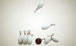 Bowling stuff Royalty Free Stock Image