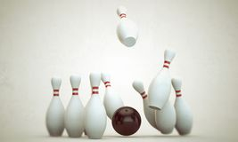 Bowling stuff Stock Image