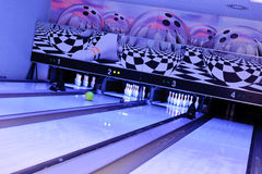 Bowling time! Royalty Free Stock Images