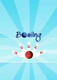 Bowling tournament Royalty Free Stock Images