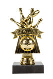 Bowling Trophy Royalty Free Stock Images