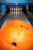 Bowlingbahn Stockfotos