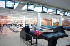 Bowlingbahn Stockfoto