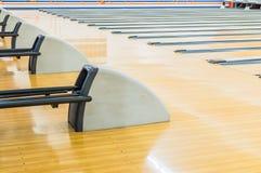 Bowlingbahn. Lizenzfreie Stockfotografie