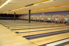 Bowlingbahn Lizenzfreie Stockfotos